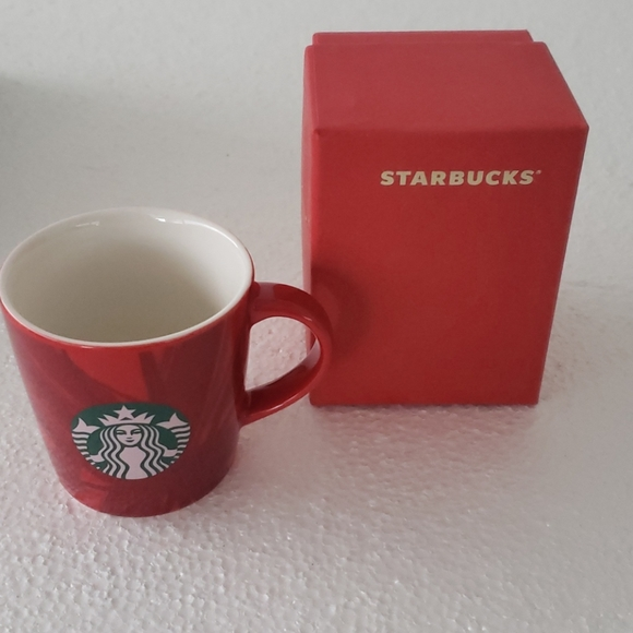 STARBUCKS demi tasse Mug and box